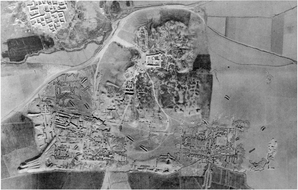 Luftaufnahme der Zitadelle (Loud - Altman 1938: Taf. 6).