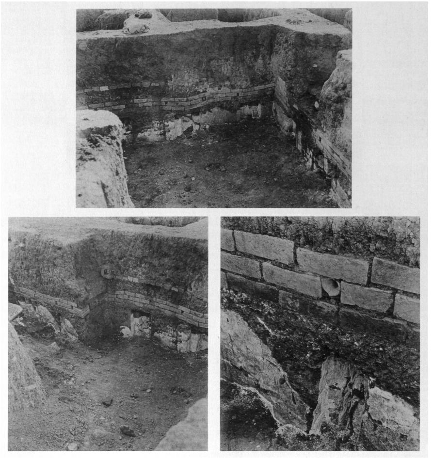 Sikkati-Reihe über den Stabwerk-Nischen-Elementen der Terrasse (Loud - Altman 1938: Taf. 15 a-c).