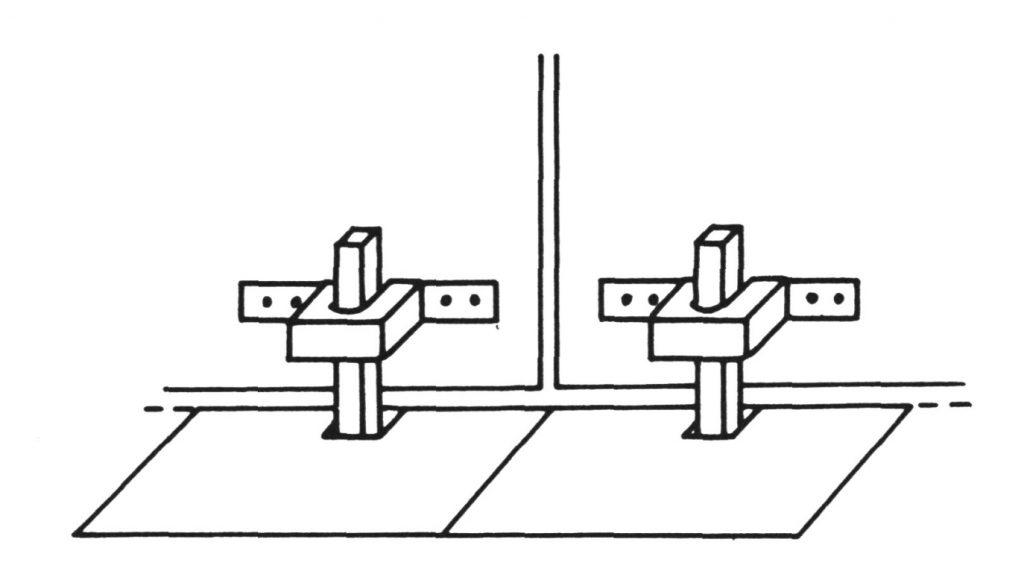 Verriegelungssystem neuassyrischer Torbauten (Damerji 1987: Abb. 63).