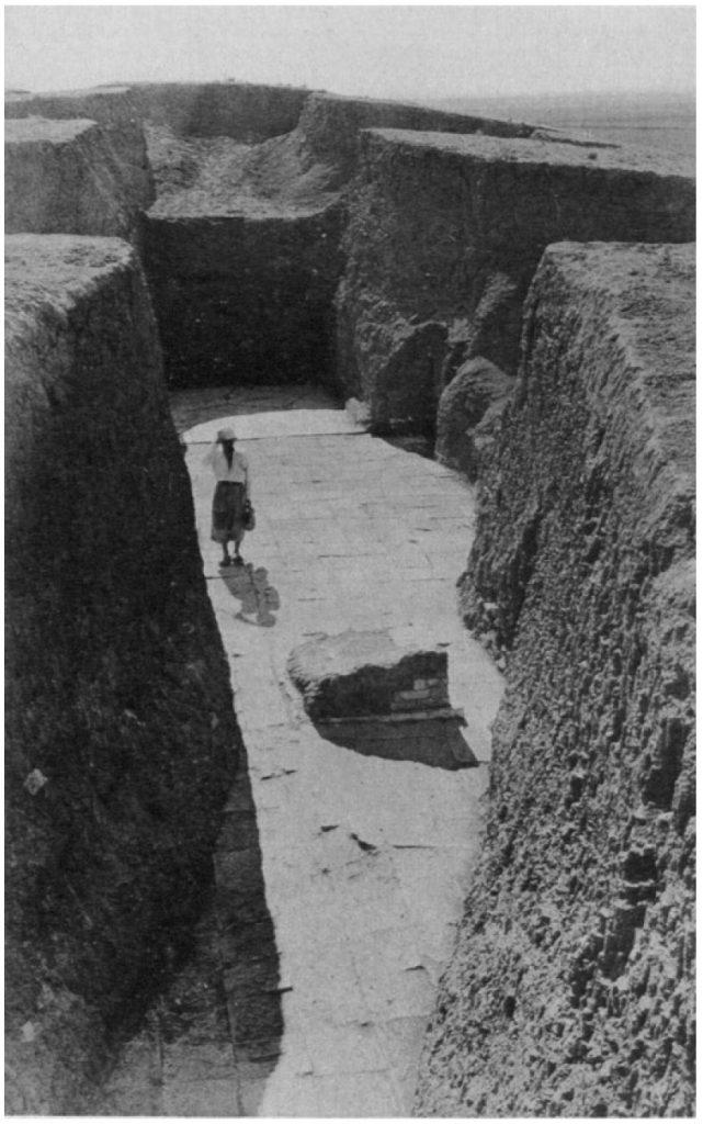 Altar(?) vor dem Eingang des Heiligtums (Loud - Altman 1938: Taf. 22 c).