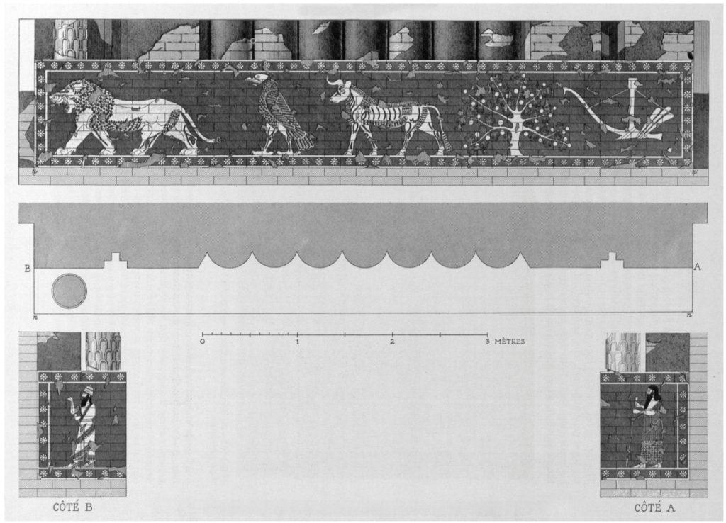 Fassade des Sin-Tempels (Loud 1936b: Abb. 114).