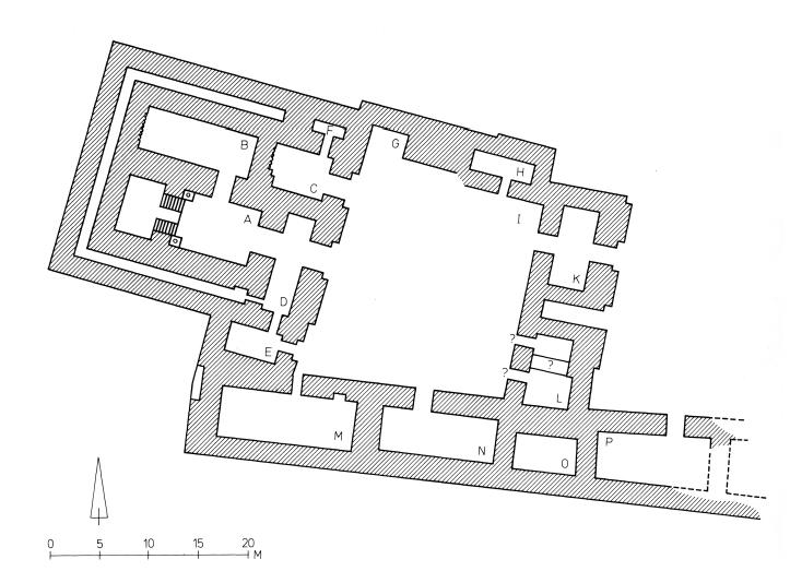 Der Nabu-Tempel in Guzana (Heinrich 1982: Abb. 356).