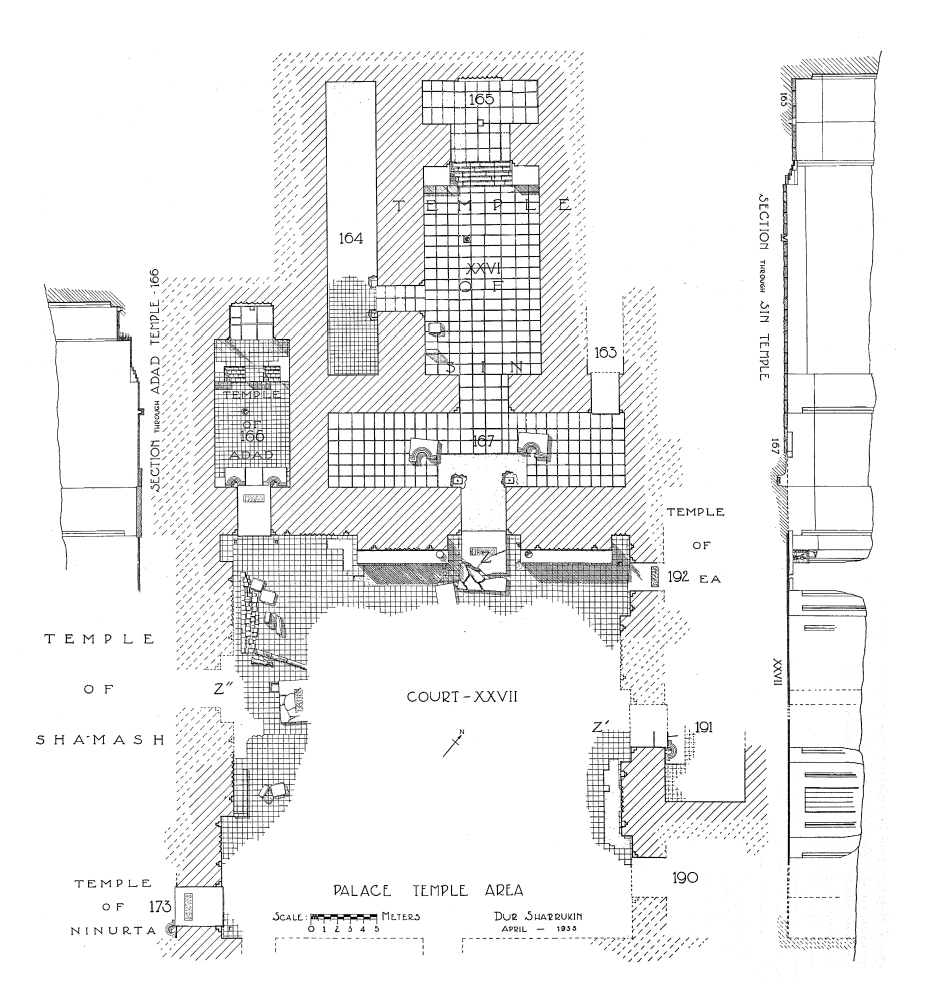 Die Palast-Tempel (Loud 1936b: Abb. 98).